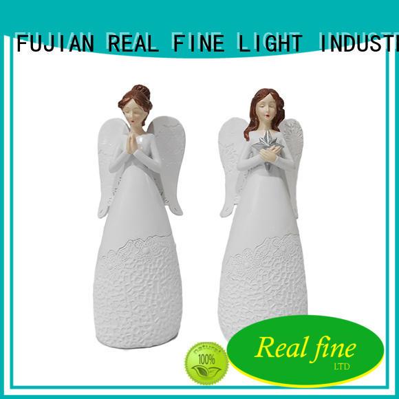 prayer polyresin angel figurines resin for garden Real Fine