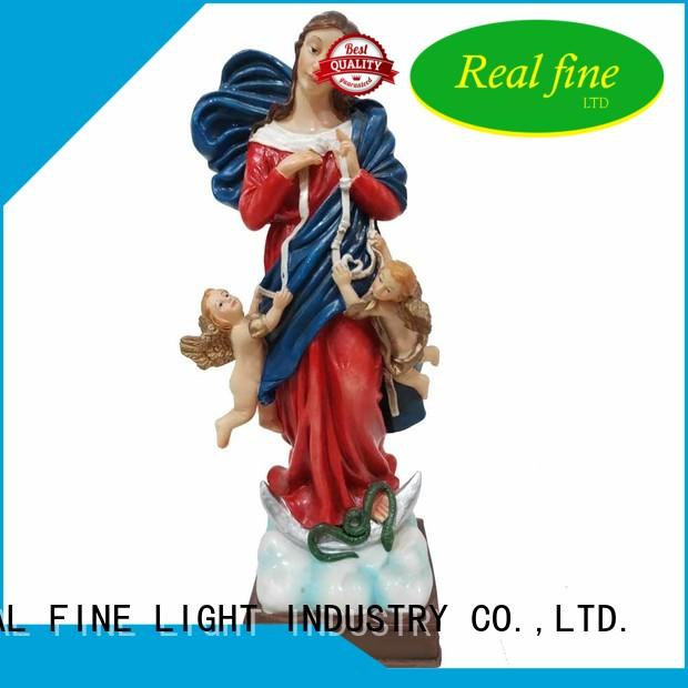 Real Fine handcraft catholic religious items virgen for church