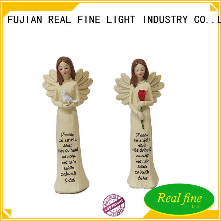 Real Fine angel figurines high quality for garden