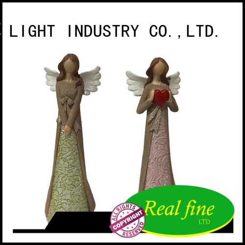 beautiful angel figurine gifts for decoration for office Real Fine
