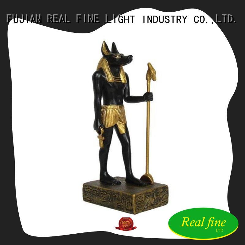 Polyresin Egyptian Anubis statue  decorative figures home