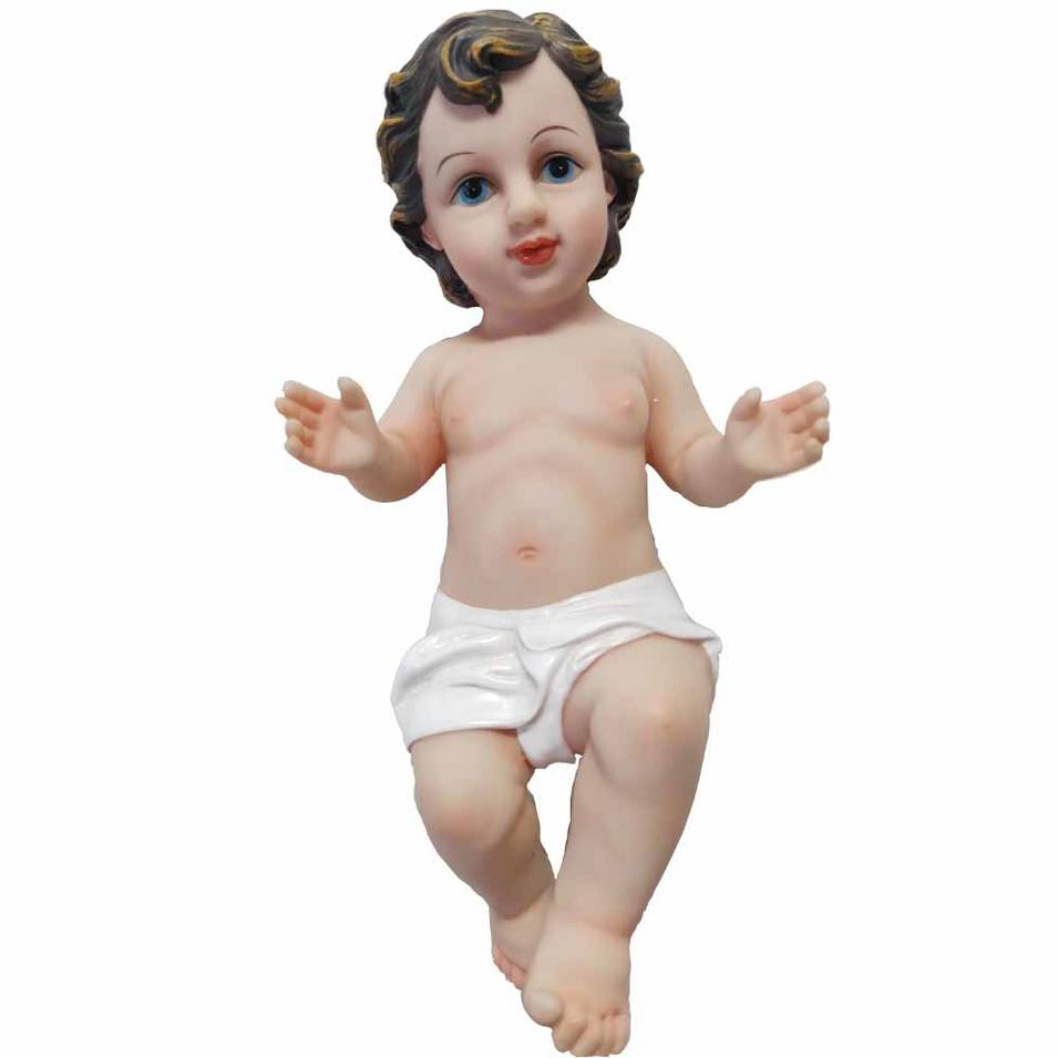 Catholic Christmas decorations resin baby Jesus statue