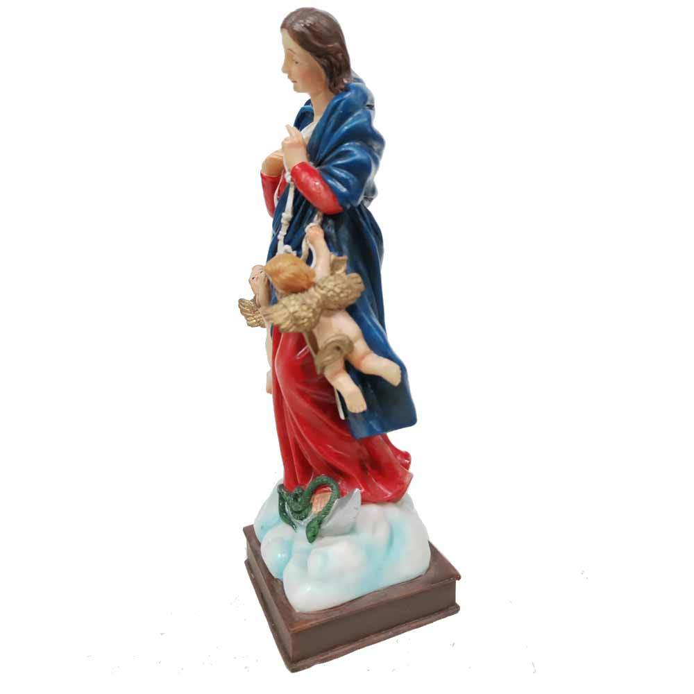 custom handmade polyresin maria che scioglie i nodi statue figurine for home decoration