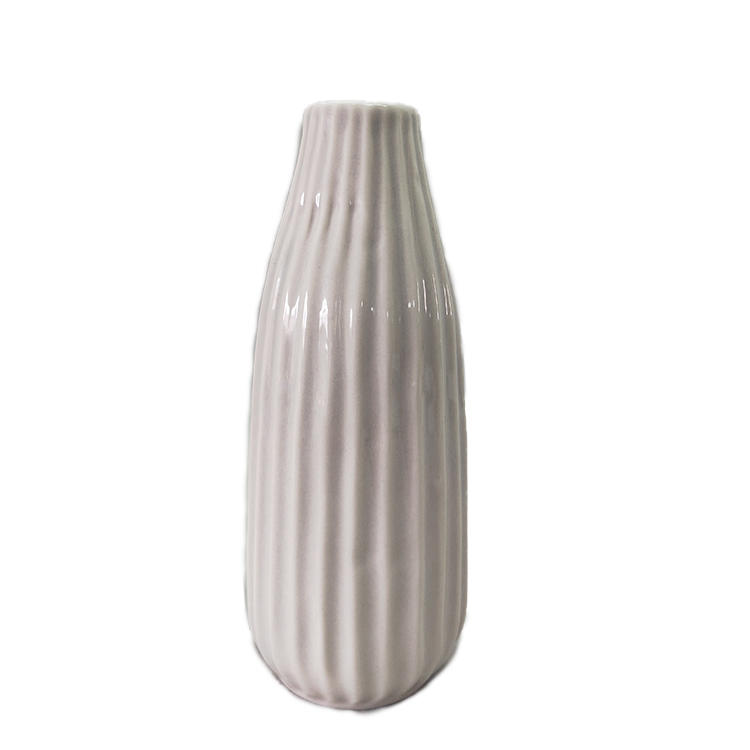 Custom Modern Design Small Bud Flower Ceramic Vase For Home Decoration