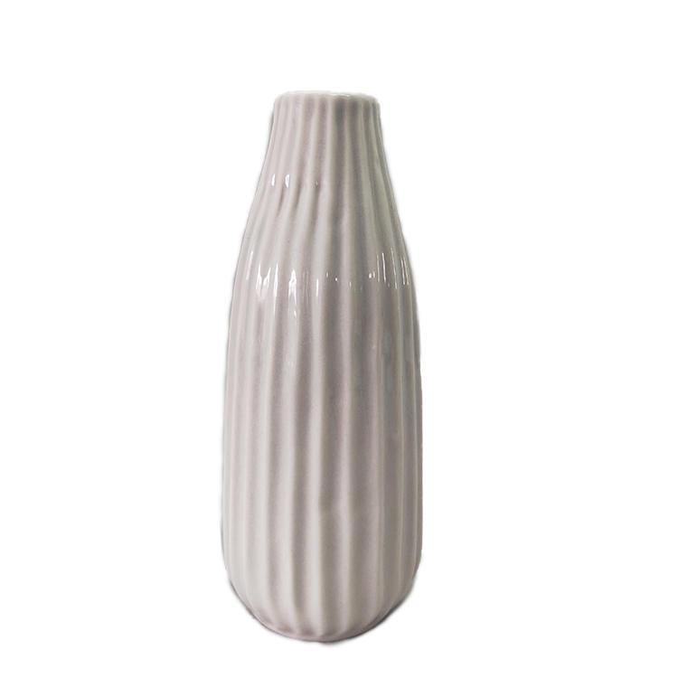 Custom Modern Design Small Bud Flower Ceramic Vase For Home Decoration