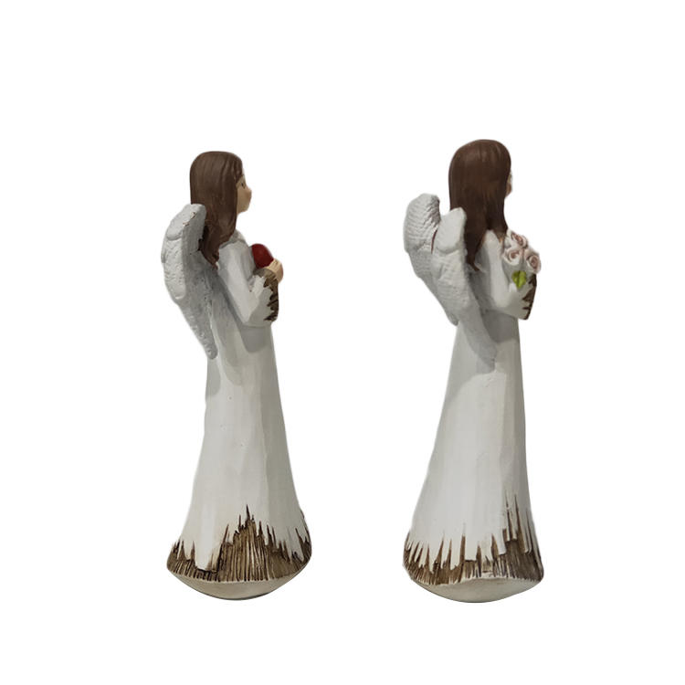 Garden Statuary Outdoor Angel Stone Resin Figurine
