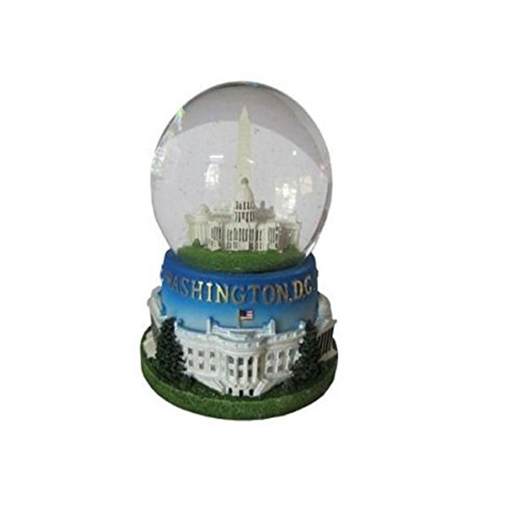 Washington dc souvenir snow globe drome for whosale