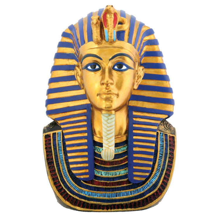 Resin egypt statue handmade figurine king ornament