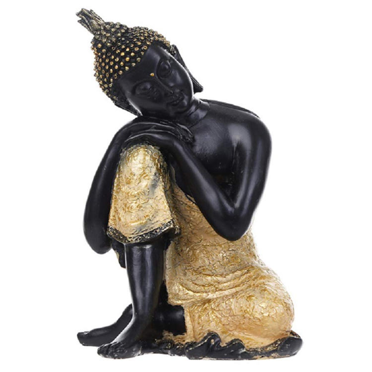 Statue buddha India resin home decor ornament figurine