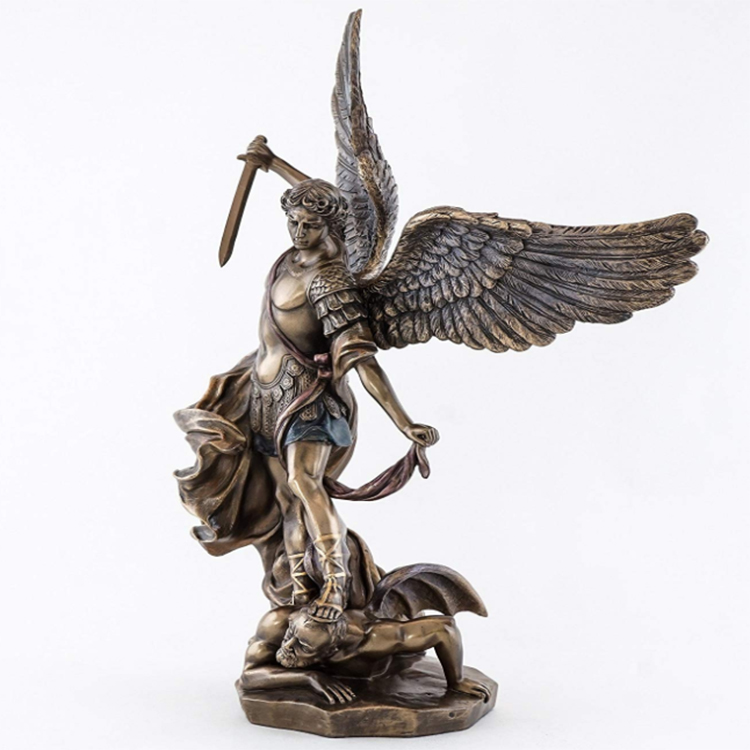 Real Fine resin angel figurines for decoration for office-2