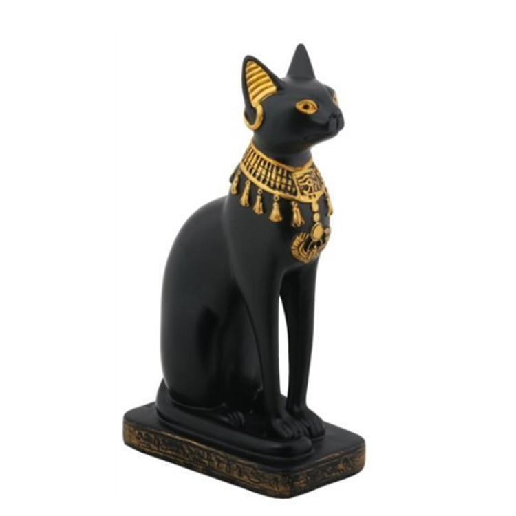 Egyptian bastet statue resin figurine garden decoration