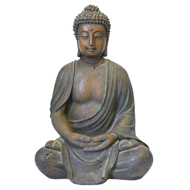 Decorative buddha figurine Asian Buddha  resin statue figurine