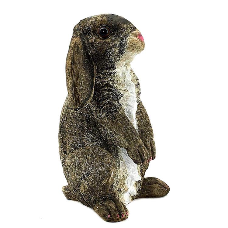 Cute bunny figurine  rabbit garden statue home decoration