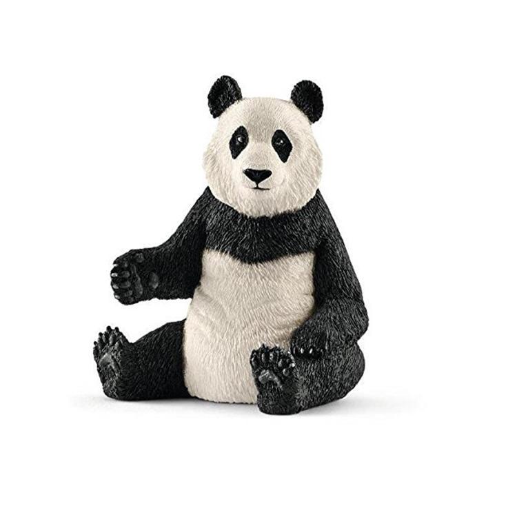 Giant panda decorative ornament outdoor panda decor statue