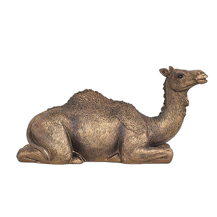 Camel statue bronze Arabic style animal resin figurine
