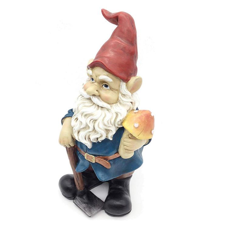 The garden gnome funny garden gnome statue resign figurine