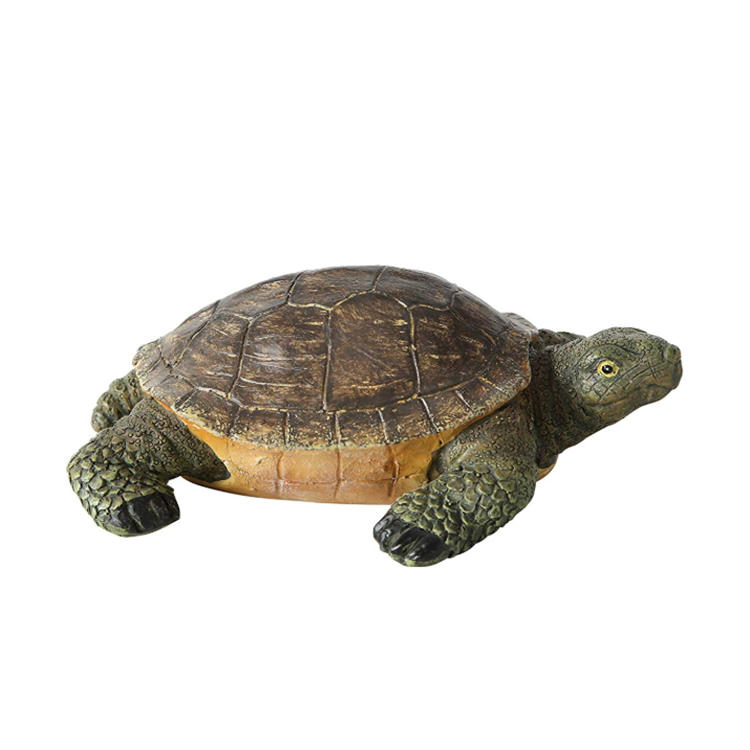 Resin sea turtle figurine garden ornament  figurine collection