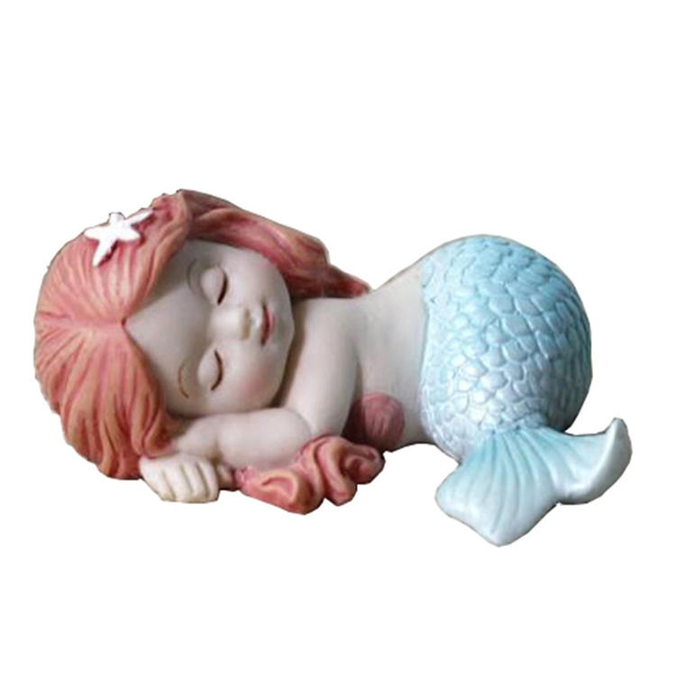 Miniature statue resin mini fairy garden decor figurine