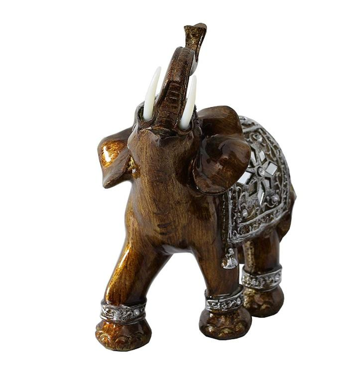 Bronze elephant resin animal statues polyresin sculpture