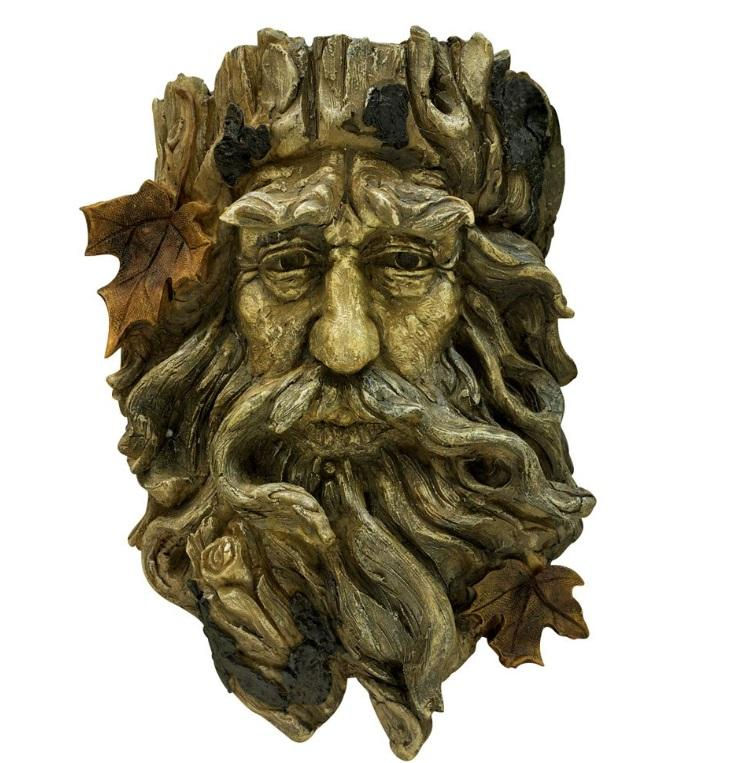 Trump like figurine  wall decor resin old man sculture