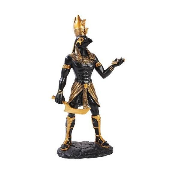 Horus statue egyptian god figurine resin home decor