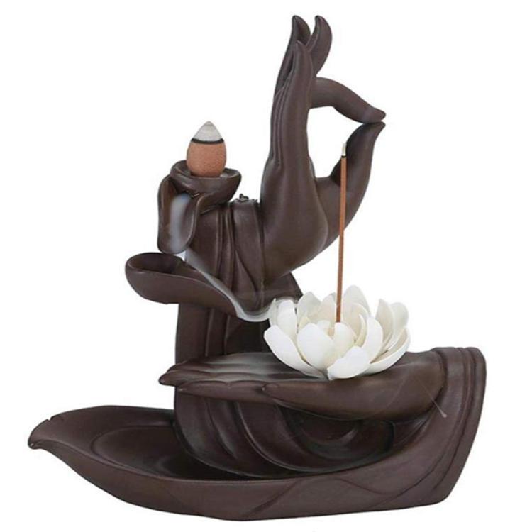 Incense Buddha Hand Incens Stick Holder