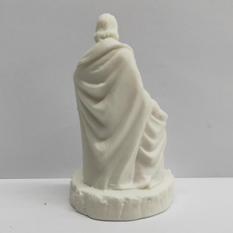 Ceramic Jesus Mary Joseph Home Decor Figurines Holy Family Christmas