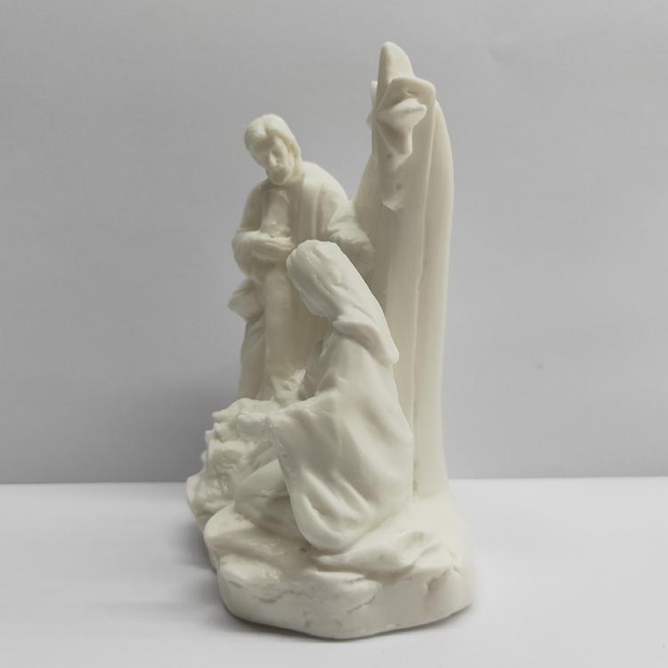 Vintage Holy Family Figurine Nativity Scene Statue