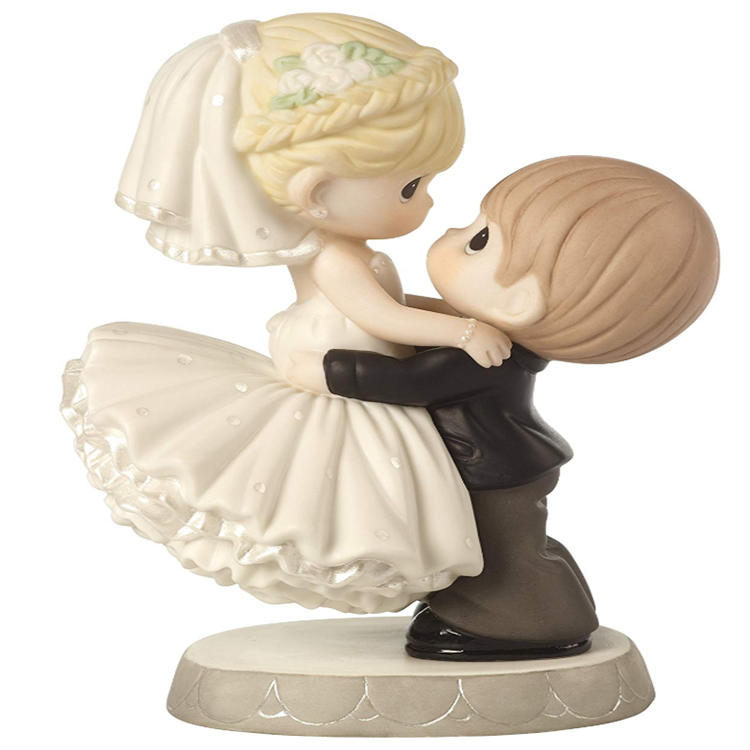 Bride and Groom Cake Topper Wedding Resin Topper