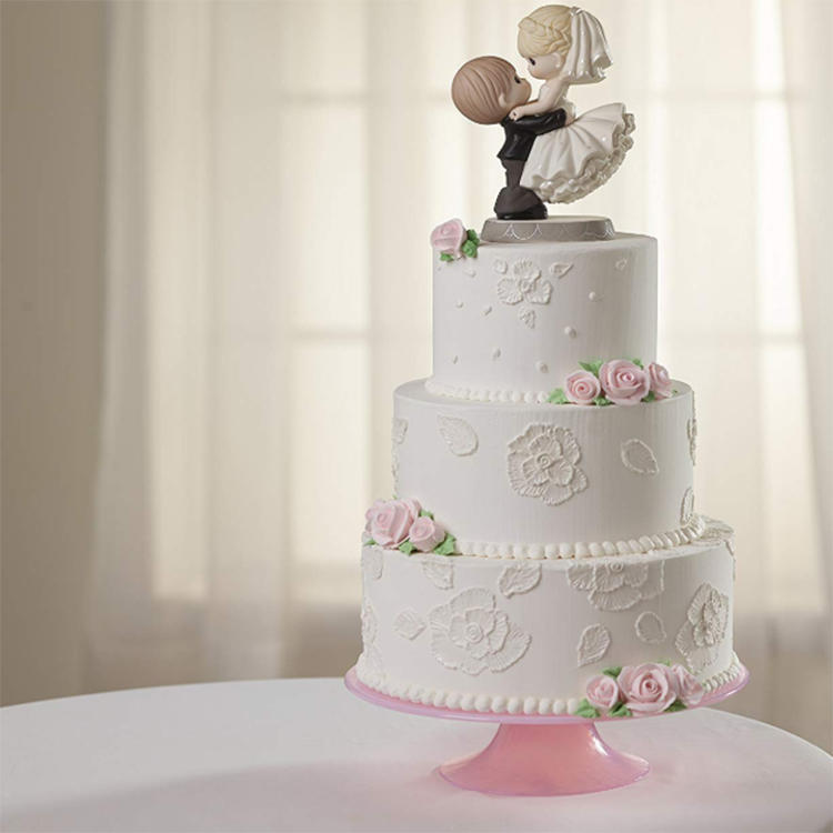 Bride and Groom Cake Topper Wedding Resin Topper