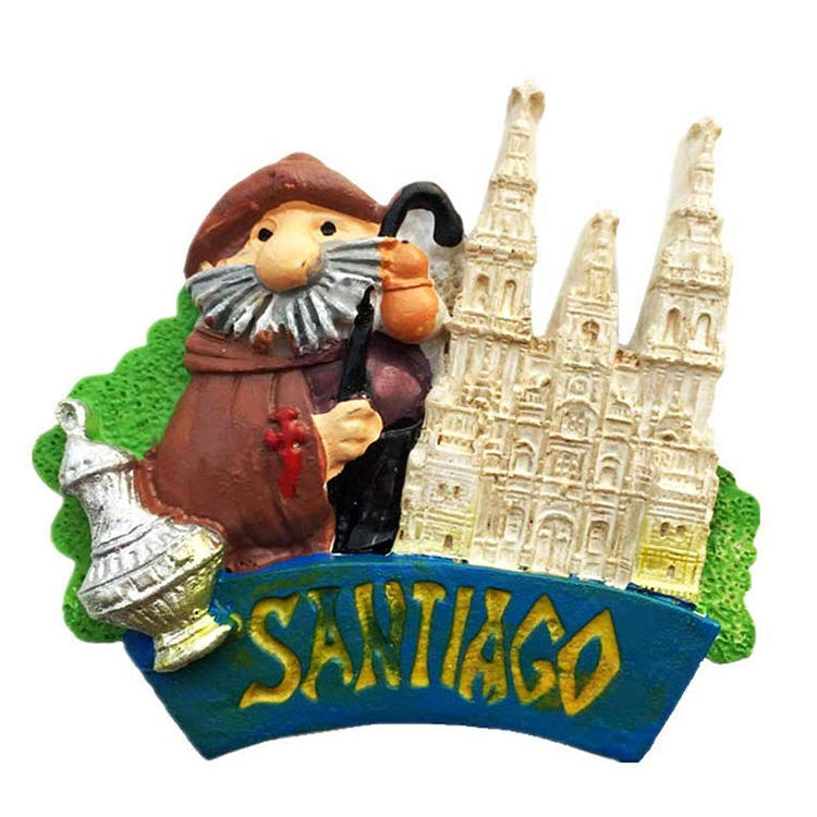 Chile Santiago Fridge Magnet Souvenir Gift, Santiago Chile Refrigerator Magnet Collection