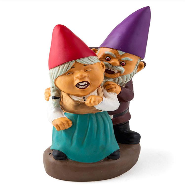 Resin Gnome Garden Gnome Craft Inflatable Gnome