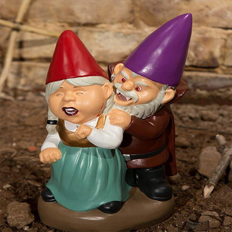 Resin Gnome Garden Gnome Craft Inflatable Gnome