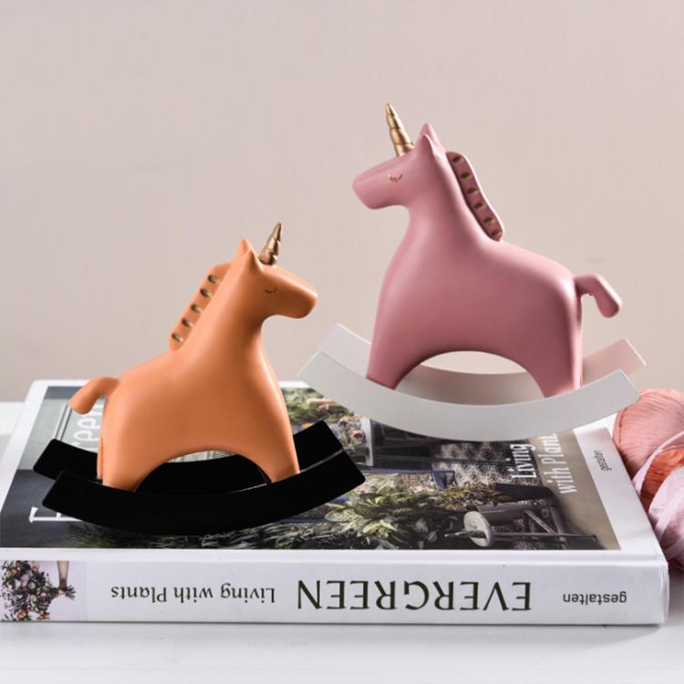 Minature Unicorn Cute Multi Colors Unicorn Figurine Collectible Decor Magical Unicorns Resin Statue Sculpture