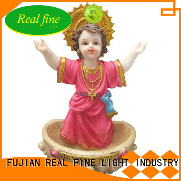 Real Fine exquisite polyresin figurine for sale for church