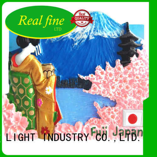 Real Fine high quality 3d fridge magnet manufacturers resin for shop