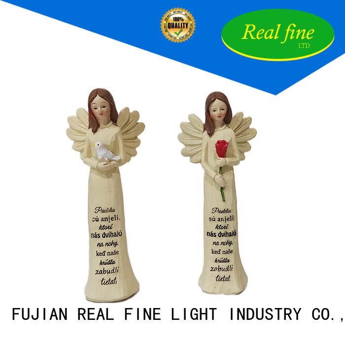 imitation religious angel figurines for gifts for church Real Fine