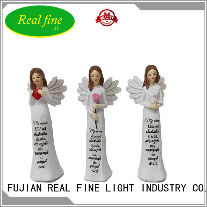 Real Fine customized angel figurines for sale for decoration for home