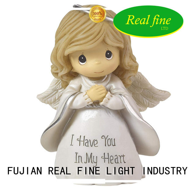 Real Fine standard christmas angel figurines for decoration for office