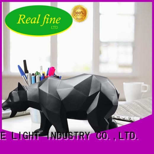 custom Home decor figurine wholesale for library