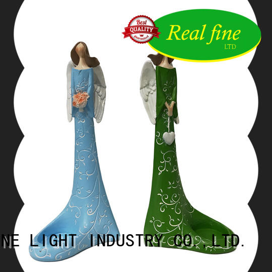 Real Fine angel figurines collectible high quality for home