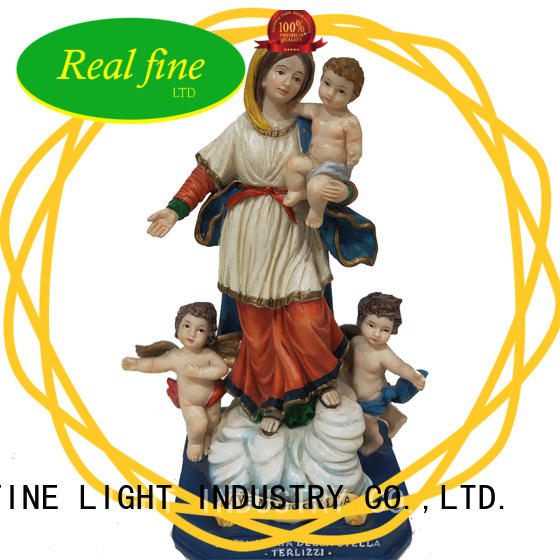 Real Fine beautifual resin figurines for sale maria for gifts