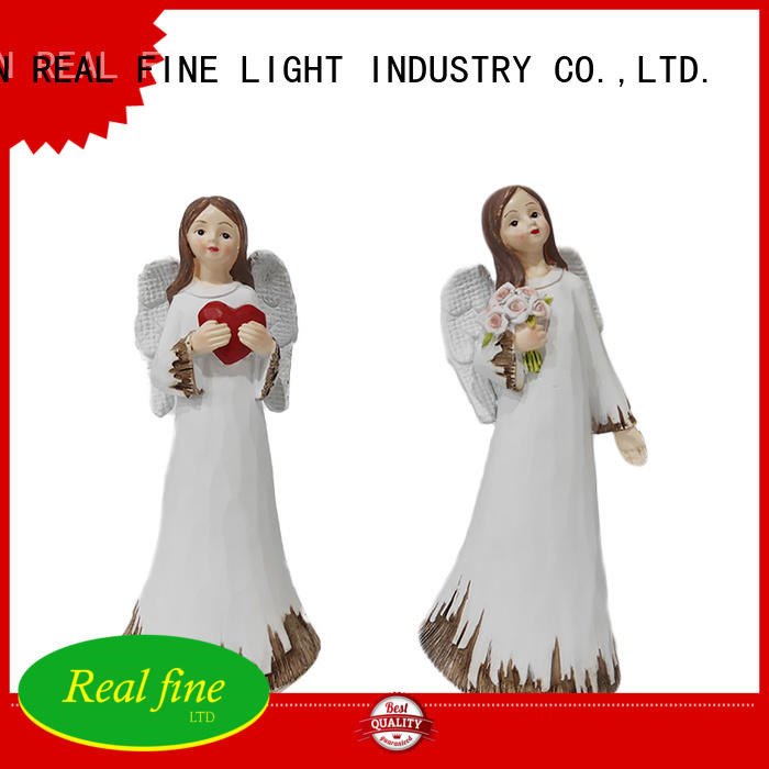 small angel figurines christmas for church Real Fine