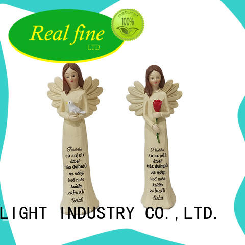 standard decorative angel figurines for decoration for home Real Fine