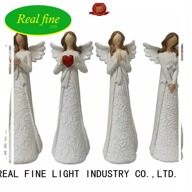 music resin angel figurines supply for home
