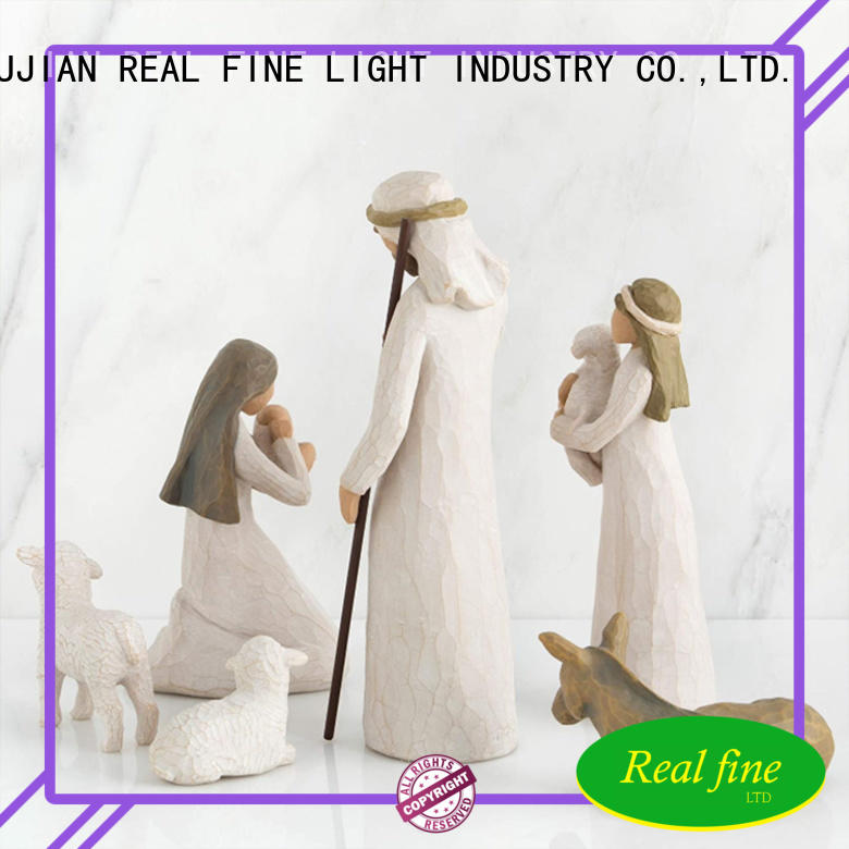 Real Fine standard Nativity Figurine design for wedding