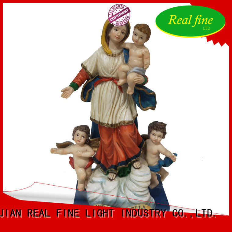 Real Fine beautifual resin figurines factory price for birthday