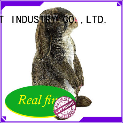 Real Fine colorful garden figurines factory for garden