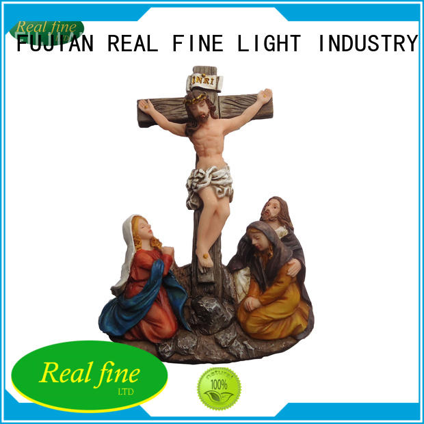 customized resin figurinesmaria directly sale for office