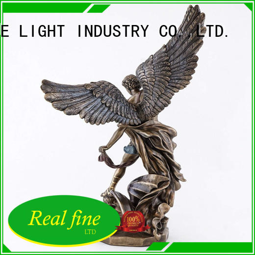 Real Fine angel figurines for decoration for home